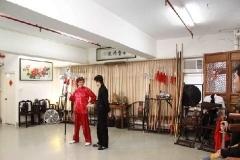 TVB拍攝花絮運動通識站-少林拳8